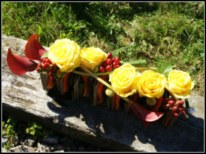 bouquets recyclages