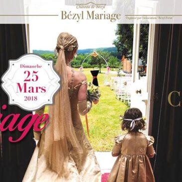 Le château du Bézyl en tenue de mariés